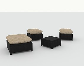 Outdoor seating 3D