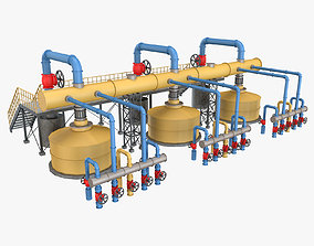 3D Piping System 4