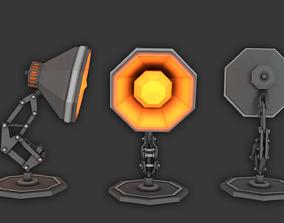 3D asset Pixar Desk Lamp