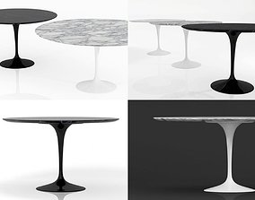 3D model Tulip Round Table