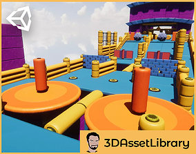 Fun Obstacle Course 3D model
