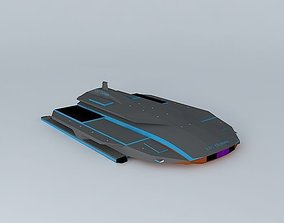 3D XAC Olympus Space aircraft class