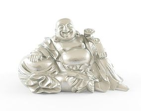 3D model sitting buddha