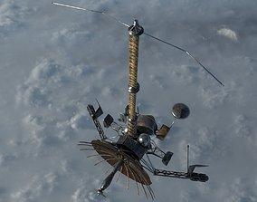 3D asset Galileo satellite