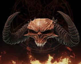 3D print model Diablo Skull - Diablo 2 and IV