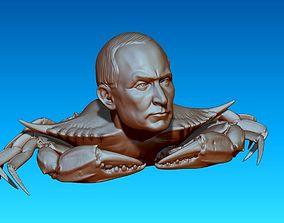 Putin Crab 3D print model crabe