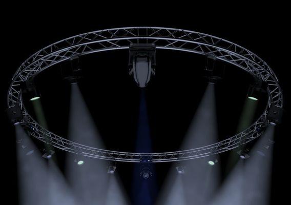 Circle Square Truss 700cm-Stage Lights