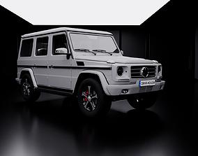Mercedes Classe G LowPoly 3D asset