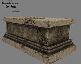 base statue 14 3D model realtime