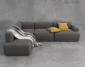 Muuto Sofa and Accessories 3D