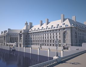 County Hall - London 3D