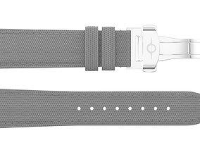 Strap watch Hexagon material PBR 3D model