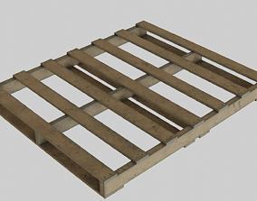 WoodenPalleteOld 3D model