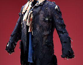 3D model Clochard Costume