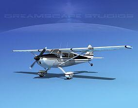 3D model Cessna 170 V05