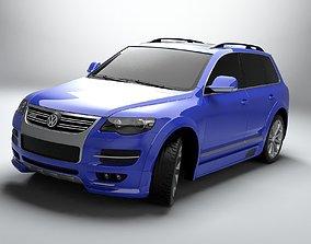 Volkswagen Touareg R50 3D asset