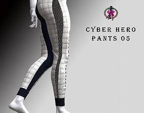 Cyber Hero - Pants 05 3D model