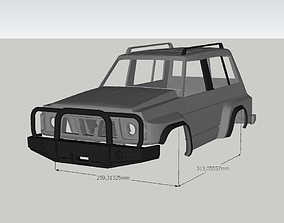 Nissan Patrol Y60 3D