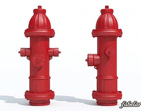 3D model Fire hydrant