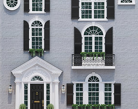 3D model Windows and doors in the style of modern 2