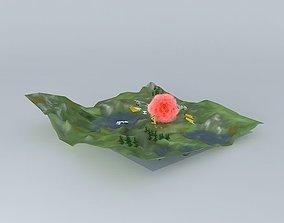 3D model World Dynamics B1 Test Flight Crash