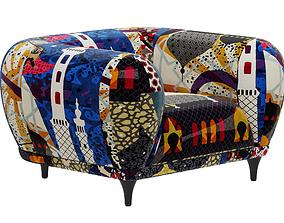 3D model Roche Bobois MONTGOLFIERE armchair