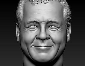 Male head 01 3D printable model