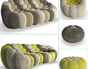 Bubble Furniture Collection Roche Bobois 3D