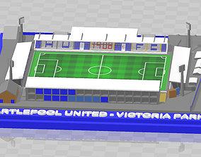 Hartlepool United - Victoria Park 3D print model