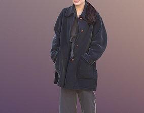 Francine 10363 - Walking Winter Woman 3D asset