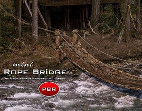 3D model Mini Rope Bridge