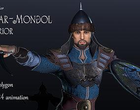 Tatar-Mongol 3D asset