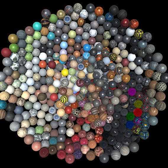 PBR Material Bundle 445 MAT