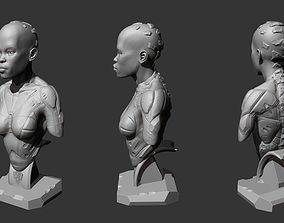 Female bust fi 3D printable model
