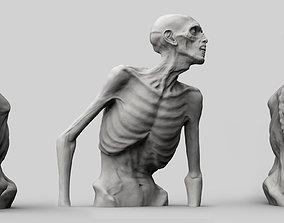 Zombie Half Body 3D printable model
