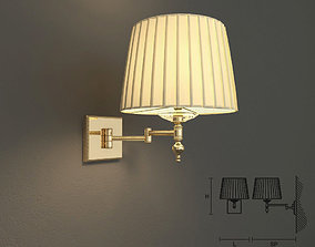 3D model Masiero VE1091 A1 wall lamp