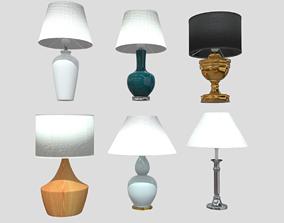 Table Lamp Pack 3D model