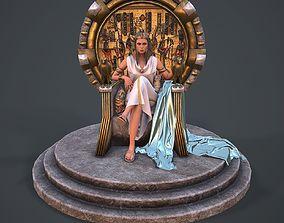 Cleopatra 3d model PBR