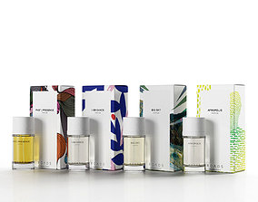 3D Africa Collection Perfumes