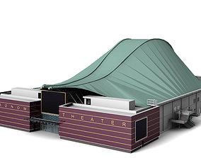 3D model Metronom Theatre