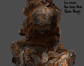 Skull Rock 3D model realtime