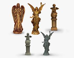 Statue pack 3D model