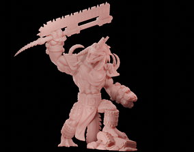 Cocodrile Warchief 3D print model