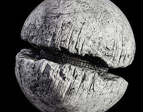 Death Moon Sci Fi Planet Base 3D model