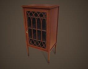 3D asset Small vintage locker