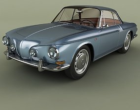 3D model Volkswagen Karmann Ghia Typ34