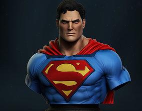 zbrush Superman Bust 3D print model