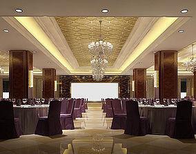 Business Restaurant - Coffee - Banquet 76 3D model