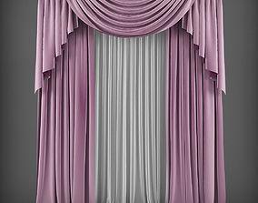 Curtain 3D model 24