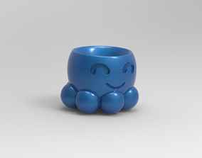pot octopus pulpo 3D printable model
